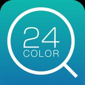 Simple 24Color Search Widget icon