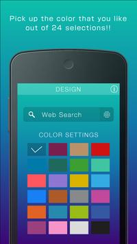 Simple 24Color Search Widget poster