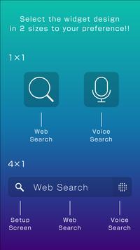 Simple 24Color Search Widget apk screenshot