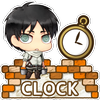 Attack on titan-Clock Free icône