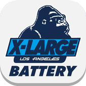 XLARGE-Graphic Battery-FREE icon