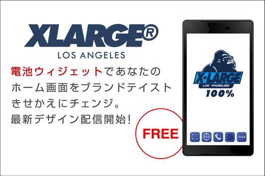 XLARGE-Graphic Battery-FREE poster