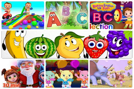 Learning English Is Fun and ABC Songs poster