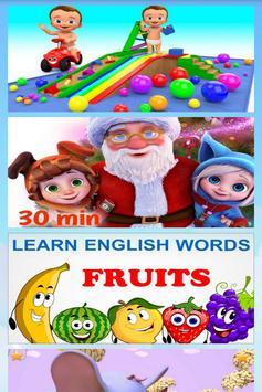 Learning English Is Fun and ABC Songs screenshot 1