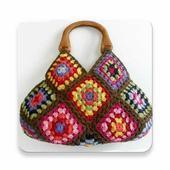 Crochet bag ideas icon