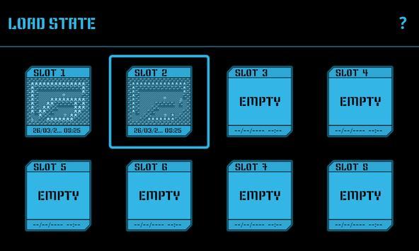 Nostalgia.NES (NES Emulator) captura de pantalla 3