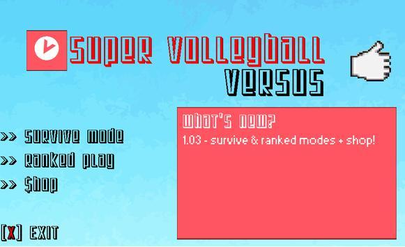 Super Volleyball Versus apk screenshot