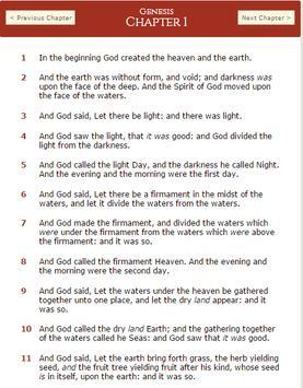 KING JAMES BIBLE screenshot 2