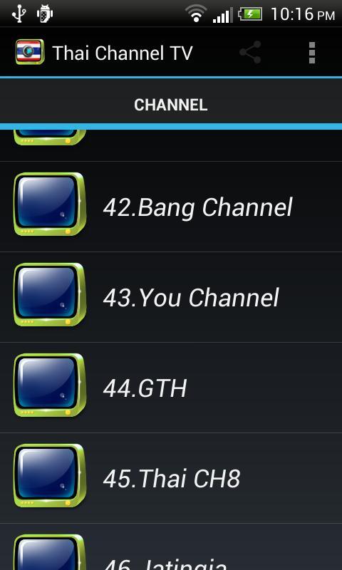 8 ch thai tv Thai TV