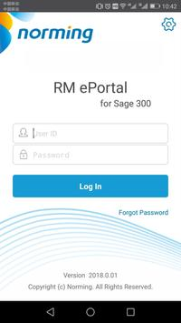 RM ePortal poster
