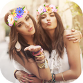 Collage Filters Flower Crown