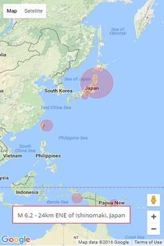 Türkiye Deprem Haritası 7 gün screenshot 1
