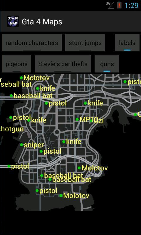 Gta4 Subway Map.Map For Gta 4 For Android Apk Download