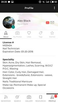 Beauticianlist screenshot 1