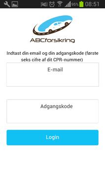 ABCforsikring apk screenshot