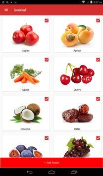 Healthy Snacks screenshot 1