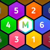 Hexa Merge Legend - block puzzle icon