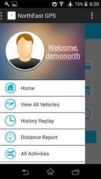 NorthEast GPS screenshot 2