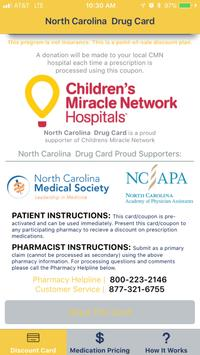 North Carolina Drug Card apk screenshot