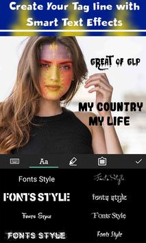Guadeloupe Flag Face Paint - Standard Photography screenshot 4