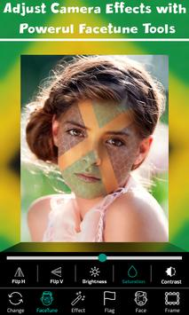 Jamaica Flag Face Paint - Touchup Photography screenshot 2