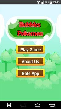 Magic Pokemon Bubbles Shooter poster