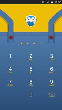 Minions Background for AppLock poster