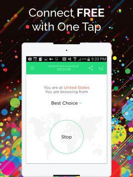 Touch VPN -Free Unlimited VPN Proxy & WiFi Privacy apk screenshot