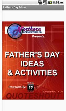Father's Day Activities poster