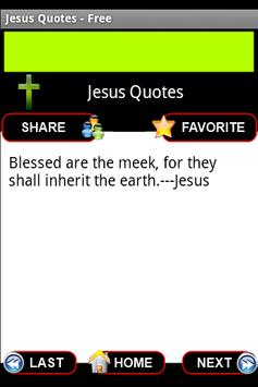 Jesus Quotes - Free screenshot 1