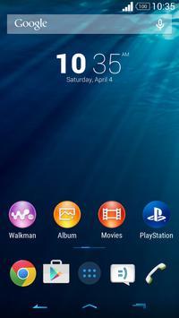 Calm Blue (Xperia) apk screenshot