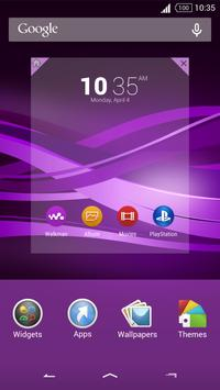 Purple Explosion - White Nav (Xperia) screenshot 5