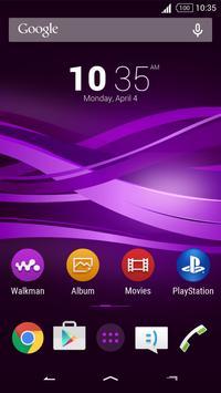 Purple Explosion - White Nav (Xperia) screenshot 6