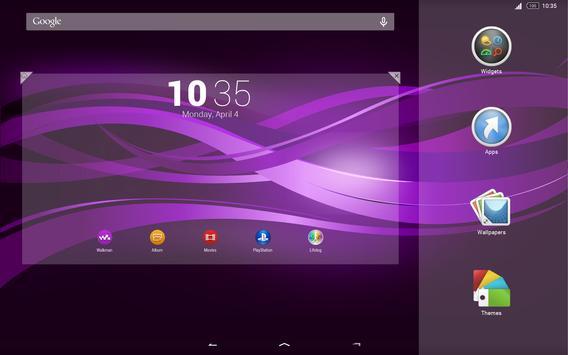 Purple Explosion - White Nav (Xperia) screenshot 13