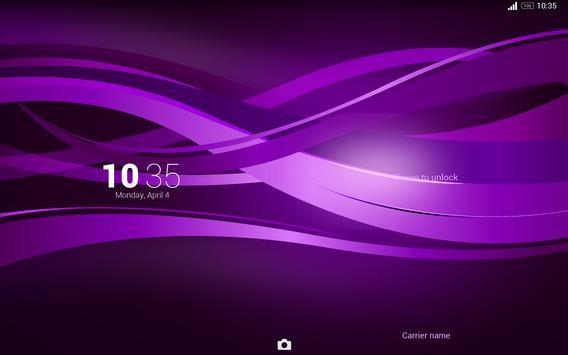 Purple Explosion - White Nav (Xperia) screenshot 11