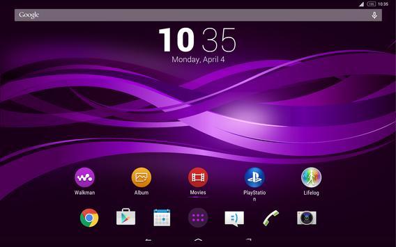 Purple Explosion - White Nav (Xperia) screenshot 14