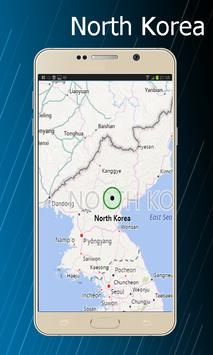 North korea world map for android apk download north korea world map poster north korea world map screenshot 1 gumiabroncs Gallery
