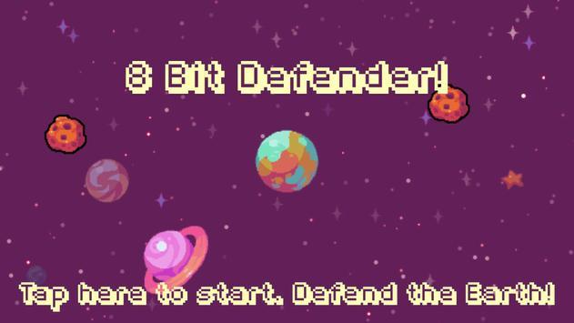 8 Bit Planet Defender poster