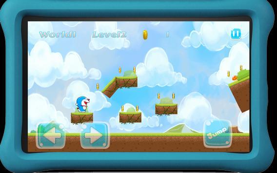Doraymon Castle Run apk screenshot