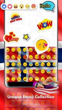 Norway Flag Keyboard - Elegant Themes screenshot 3