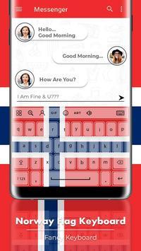 Norway Flag Keyboard - Elegant Themes screenshot 2