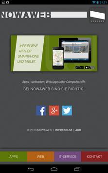 NOWAWEB mobil apk screenshot