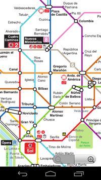 Madrid Metro Map screenshot 1