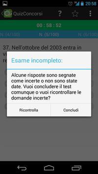 QuizConcorsi 546 Carabinieri screenshot 5