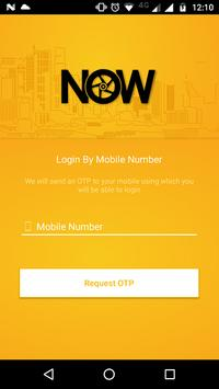 NOW Delivery Partner poster