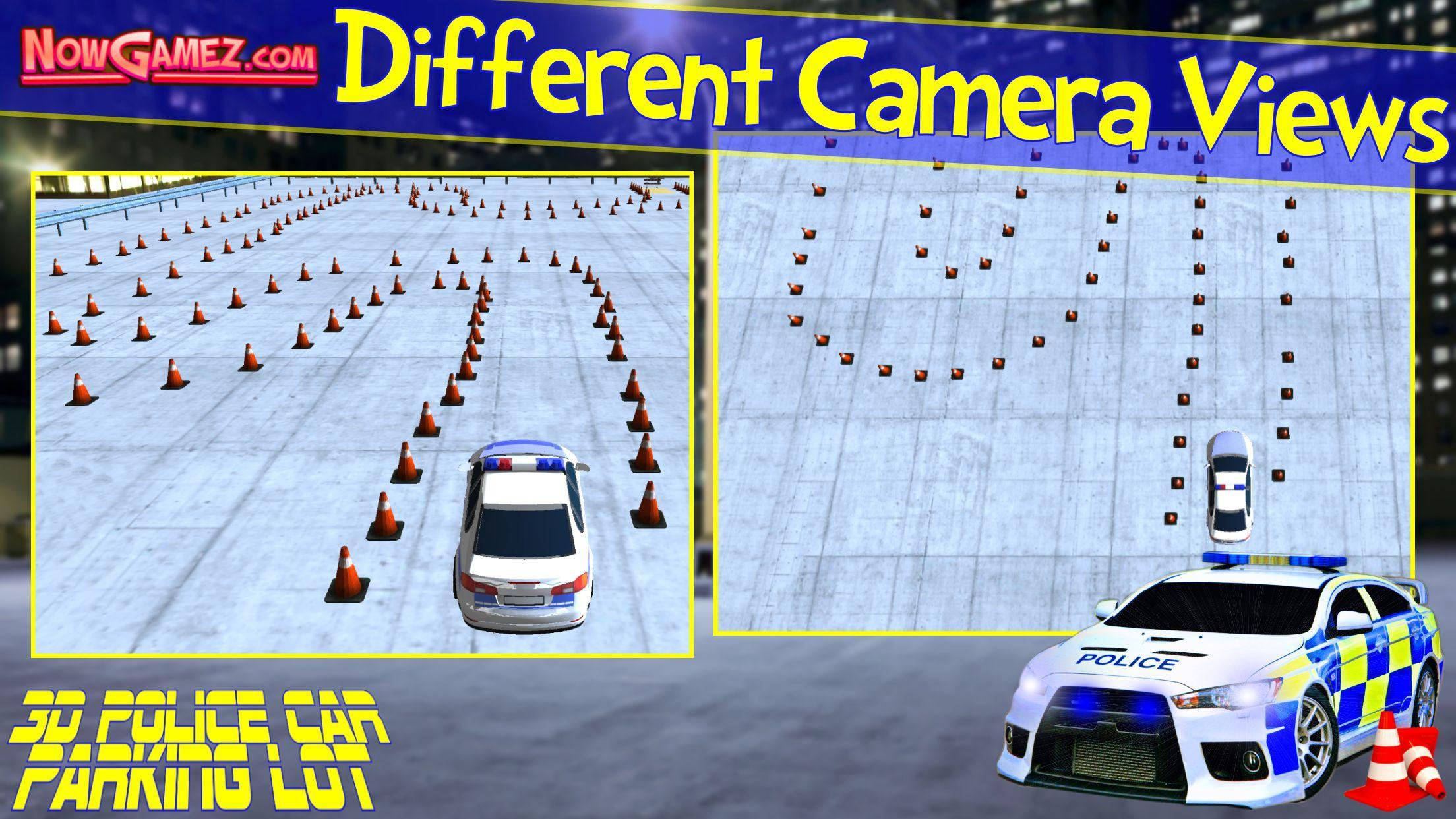 3D Police Car Parking Lot FREE for Android - APK Download