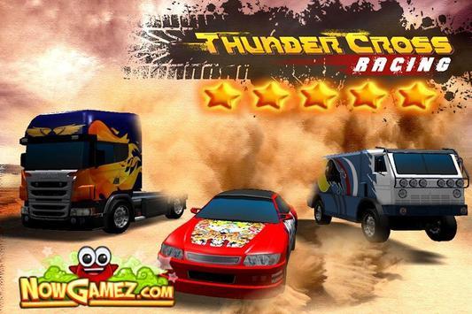 Thunder Cross Racing screenshot 1
