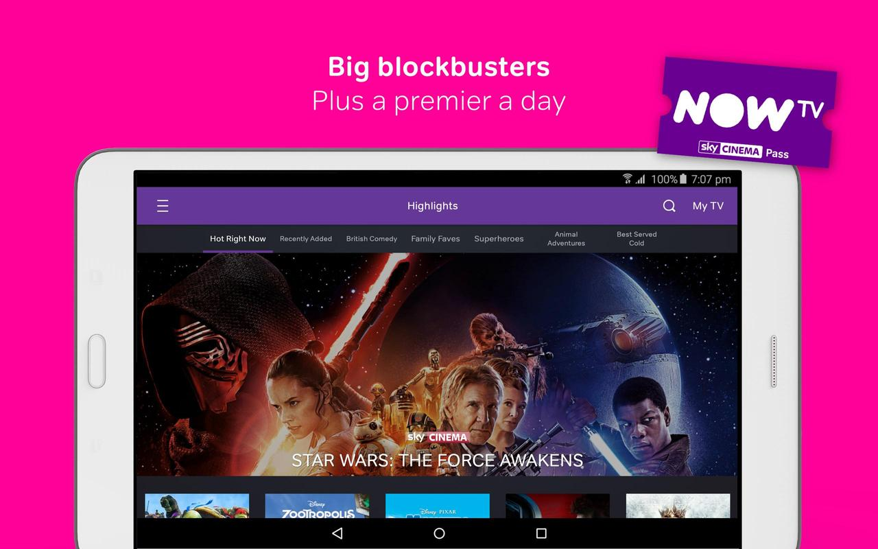 Watch the latest movies, tv shows, live sports and kids entertainment live and on demand. Available without a contract on loads of devices. Join today.