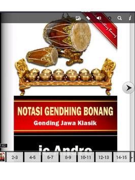 Notasi Gending Bonang apk screenshot