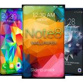 Note 8 ロック画面の壁紙 Free アイコン